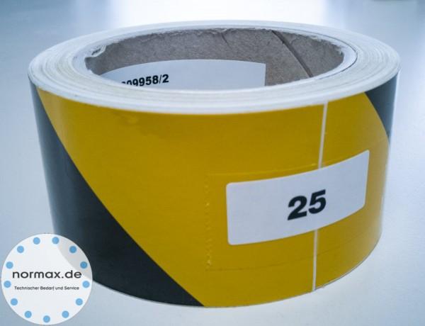 Warnband Gelb/Schwarz-Links