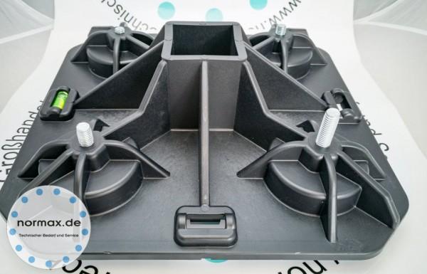 Dachfuß 300 x 300mm Höhenverstellbar max. 2200N