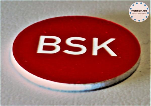 Gravurschild BSK