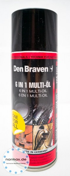 Multi-Lube 6 in 1